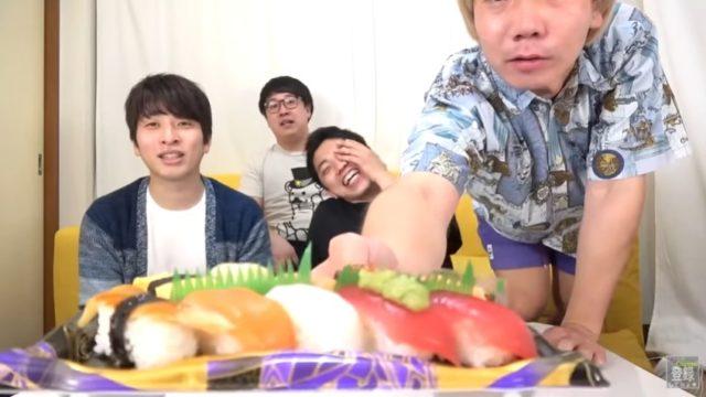 わさび寿司を甘いと思わせる催眠術3