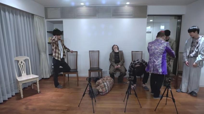 SixTONESのメンバーが催眠術に次々とかかる
